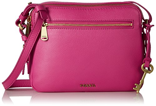 Fossil Piper Toaster Crossbody - Hot Pink - One Size