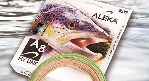 ALEKA A8 Fly Line WF8 (Floating) (Floating Wf8)
