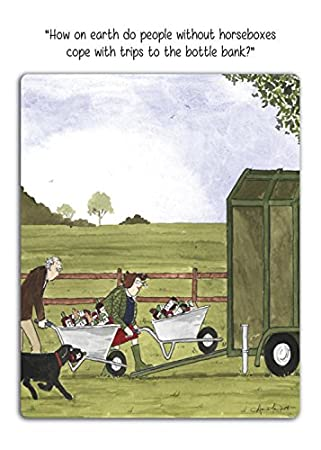 Tottering by gently greeting card how on earth do people without tottering by gently greeting card how on earth do people without horseboxes cope m4hsunfo
