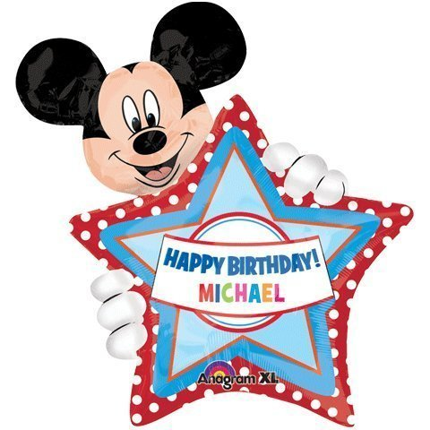 Mickey Personalized Balloon Personalize Childs product image