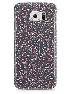 Decorative Samsung S6 3D wrap around Case - Beige Linear
