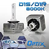 TGP D1S/D1R/D1C 8000k Iceberg Blue HID Xenon Replacement Bulbs Low Beam Only 2003-2011 Cadillac CTS (With Factory HID)