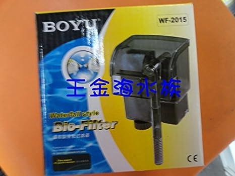 2025 acuario filtro de pecera filtro de cascada plug-in Boyu WF-2015: Amazon.es: Oficina y papelería