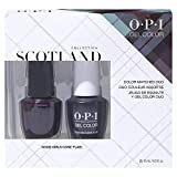 OPI Scotland Collection, Nail Lacquer & Gel Color Duo pack