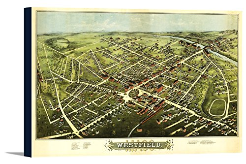 westfield-massachusetts-panoramic-map-36x24-gallery-wrapped-stretched-canvas