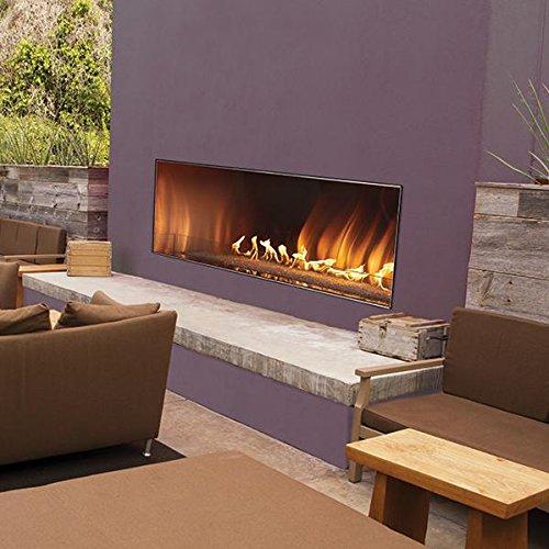 60 gas fireplace - 9