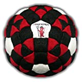 Pandemonium Footbag The Omen Footbag 152 Panels Hacky Sack Bag Sand & Iron Weighted At 2.1 Onces