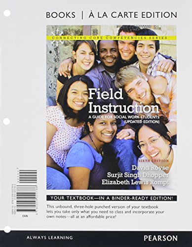 Field Instruction: A Guide for Social Work Students, Updated Edition, Books a la Carte Plus MySocialWorkLab with eText -