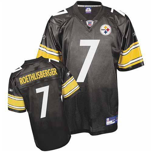 Ben Jersey Uniform (Ben Roethlisberger #7 Pittsburgh Steelers NFL
