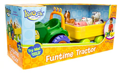 Kidoozie Funtime Tractor (Tractor Green Little)