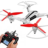 Drone with Camera Optical Flow Anti-Shake, Metakoo X300 Remote Control Helicopter RC Quadcopter HD Video Camera Drone Helicopter with Remote Control