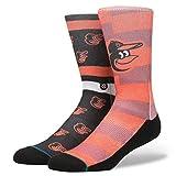 Stance Mens Mlb Orioles Splatter Socks