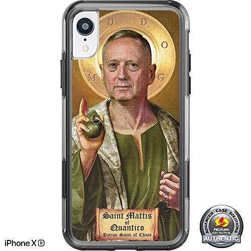 - Limited Edition- Customized Printed Designs by Ego Tactical Over a Pelican- Adventurer Case for Apple iPhone XR (6.1