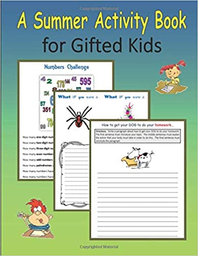 A Summer Activity Book for Gifted Kids