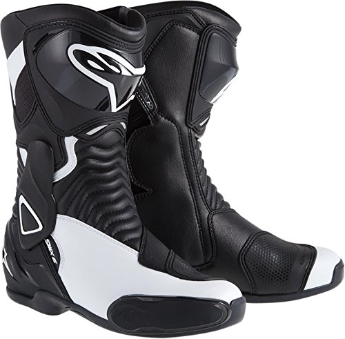Alpinestars NEW ALPINESTARS STELLA SMX-6 PERFORMANCE RIDING WOMENS SPORT-FIT BOOTS, BLACK/WHITE, - 1 Riding Shoes Smx