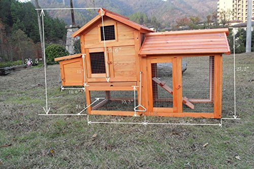 Chicken-Poultry-Coop-Hen-House-Rabbit-Hutch-Cage-SMALL-0313S-Not-Applicable