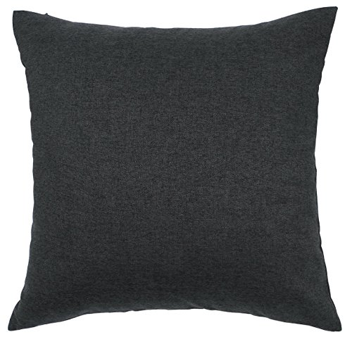 TangDepot Solid Wool-like Throw Pillow Cover/Euro Sham/Cushion Sham, Super Luxury Soft Pillow Cases – Handmade – Many Colors  Sizes Avaliable – (26x…