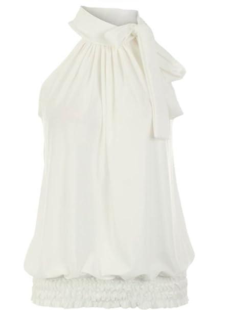 24100286cfc5 YMYY-Kleider Verano Mujeres Camisolas Camisas Moda Colores Lisos ...
