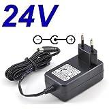 Cargador de 24 V para televisor LED LG 22LS3500 / 26LS3500 / 19LV2500 / 22LV2500 / 26LV2500 / 26LV2500: Amazon.es: Electrónica