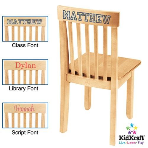 Avalon Kid's Desk Chair Finish: Natural by KidKraft (Image #4)