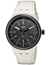Swatch Unisex SUTM400 Originals Analog Display Swiss Automatic White Watch