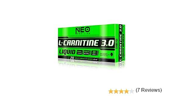 L-CARNITINE 3.0 LIMA-LIMON 20 VIALES-10 ml - Suplementos Alimentación y Suplementos Deportivos – NEO PRO-LINE: Amazon.es: Salud y cuidado personal