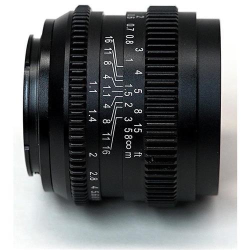 SLR Magic 50mm F1.1 Cine Lens for Sony FE Mount