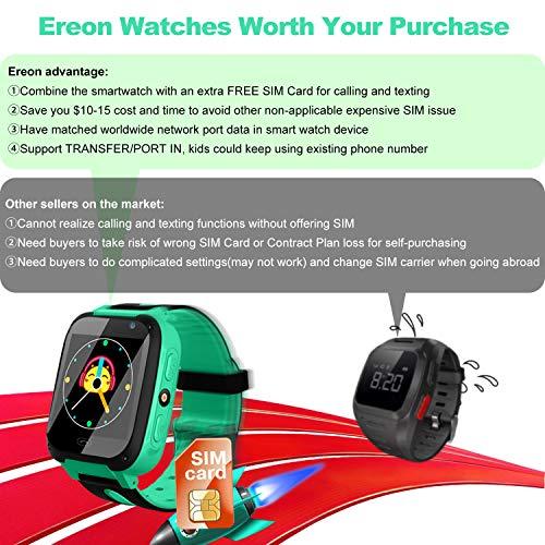 Smart Watch For Kids, [SIM CARD Include] GPS Tracker
