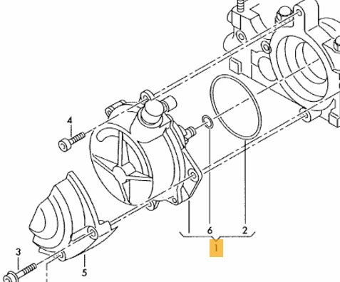 Vacuum Pump059145100h Amazon Co Uk Car Motorbike