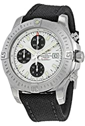 Breitling Colt Chronograph Stratus Automatic Silver Dial Mens Watch A1338811-G804BKFT