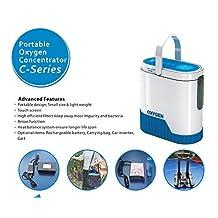5L Portable O2 generator Full Intelligent Home Oxygen Concentrator Generator Air Purifier Oxygen Generatorwork