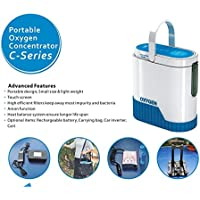 5L Portable O2 generator Full Intelligent Home Oxygen Concentrator Generator Air Purifier Oxygen Generatorwork