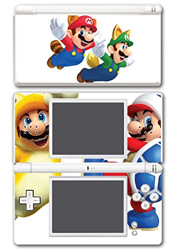 Nintendo Ds Bros Super Lite New Mario (Super Mario Bros Boomerang Squirrel Acorn Cat Suit Video Game Vinyl Decal Skin Sticker Cover for Nintendo DS Lite System)