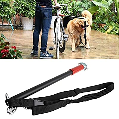 Itemap Pet Dog Bicycle Leash Hands Free,Training Ride Bike Distance Walker Running