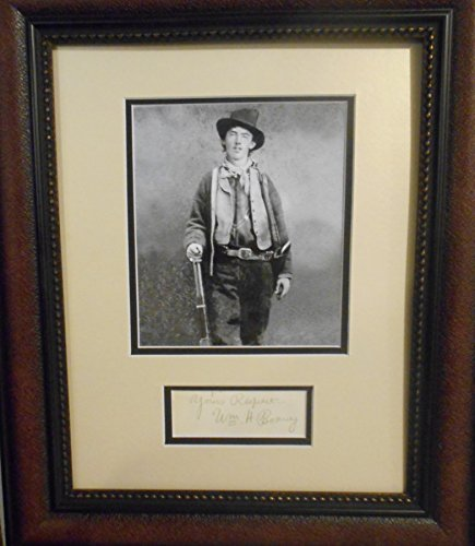 "William H Bonney""Billy the Kid"" autograph"