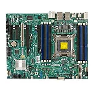 Supermicro MBD-X9SRA-B Intel C602 LGA 2011 (Socket R) ATX placa base para - Servidor (ATX, Servidor, Intel, LGA 2011 (Socket R), E5-1600,E5-2600, DDR3-SDRAM)
