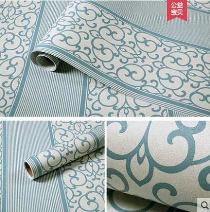 Self adhesive wallpaper wall sticker stripes Simple bedroom living room wall sticker Hostel self-paste waterproof wallpaper-7 Color NO 02 Dimensions width is 60cm