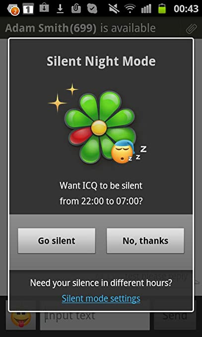 Icq to go