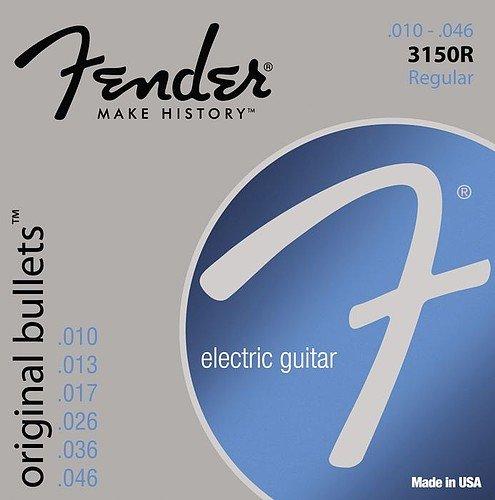 Fender 3150R Original Bullets Electric Guitar Strings 10-46 12 Sets