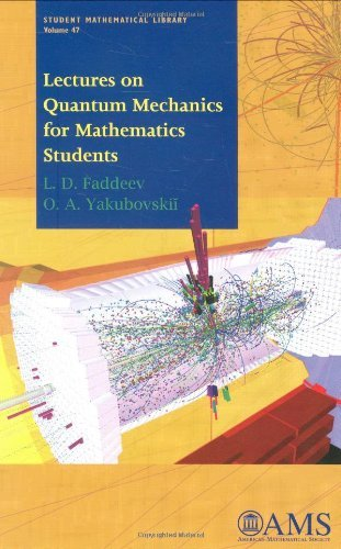 Read Online By L. D. Faddeev - Lectures on Quantum Mechanics pdf
