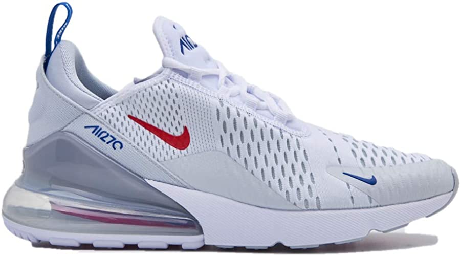 baskets nike air max 270 chaussures de running pour homme femme blanc