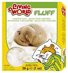 1-Ounce, 100 % Cotton Hamster Fluff