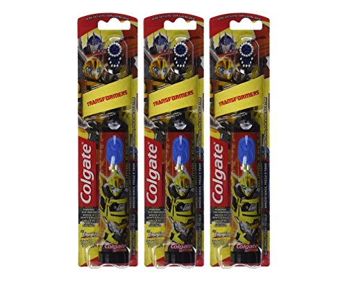 Colgate Power Toothbrush Transformers Colors