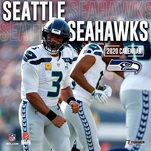 Seattle Seahawks Schedule 2020.Seattle Seahawks 2020 12x12 Team Wall Calendar Lang