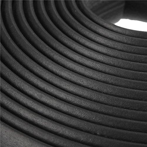 QOJA 4m door rubber seal strip dust protection article
