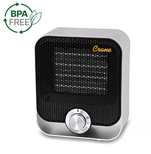 Crane USA Personal Space Heater, Black by Crane USA