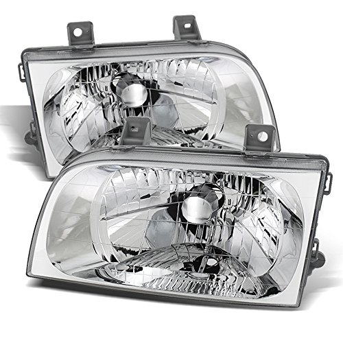 ACANII - For 1998-2002 Sportage Headlights Headlamps Replacement 98-02 Pair Driver + Passenger Side