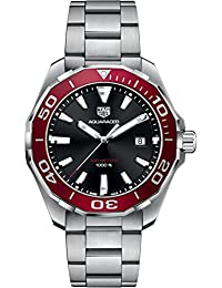 TAG Heuer Aquaracer Black & Red 43mm Men's Watch WAY101B.BA0746