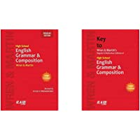 Wren & Martin - High School English Grammar and Composition & Key (Set of 2 books)