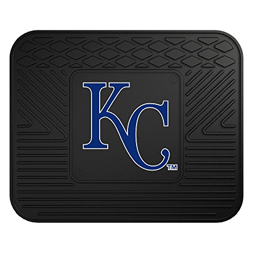 Kansas Utility Mat - Fanmats MLB Kansas City Royals Vinyl Utility Mat